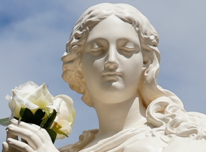 statue of mary from ephesus